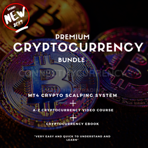 TempéRé Cryptocurrency Education Bundle 2019 + Mt4 Crypto Scalp Système Commercial-afficher Le Titre D'origine