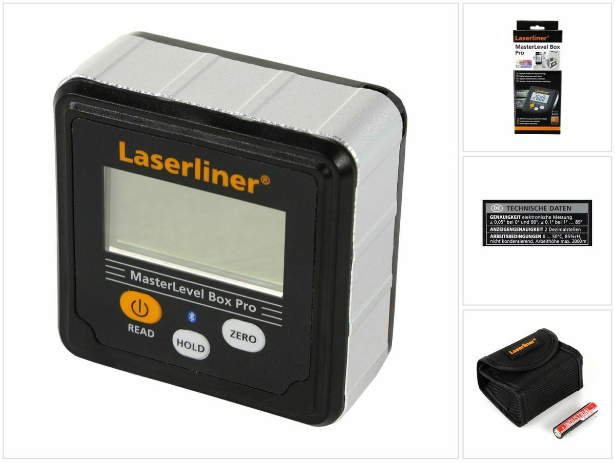 Laserliner MasterLevel Box Pro Digitale Elektronik-Wasserwaage ( 081.262A )