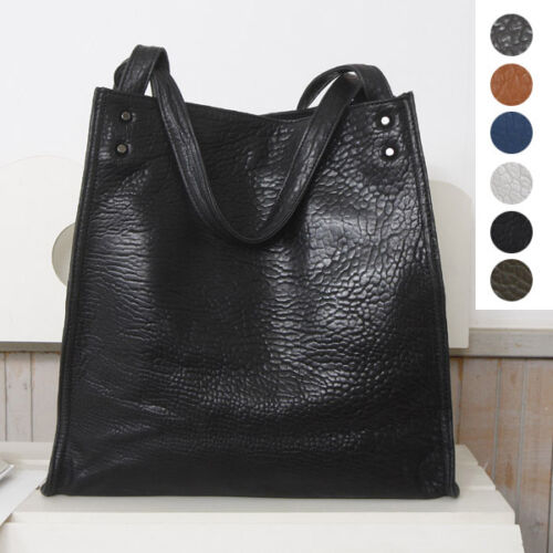 Daily Casual Handbag Domino Shopper Shoulder Real Tote Bag Sheepskin Leather mNn08w