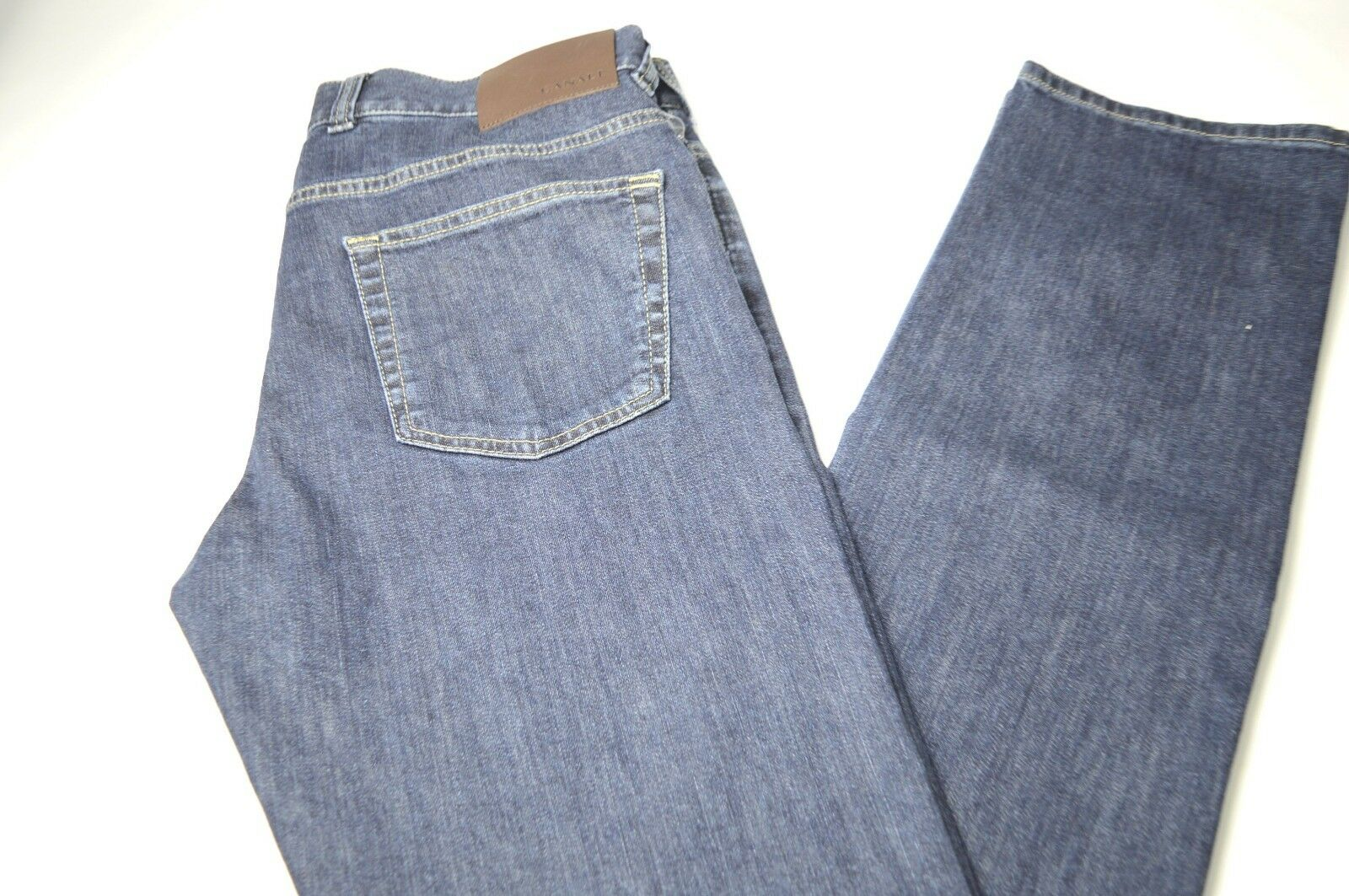New CANALI Cotton Denim bluee Jeans  Size  36 Us 52  Eu  Made in  Cod 15