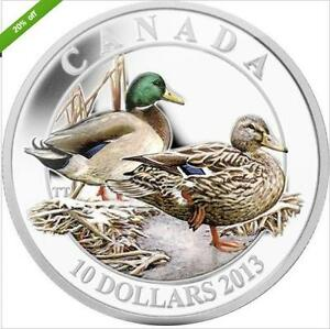 2013-CANADA-10-Coin-Mallard-2013-10-35mm-3mm
