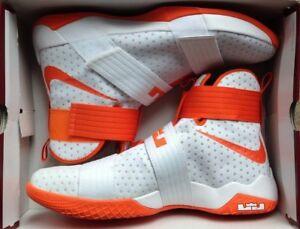 Lebron Soldier 10 TB PROMO White Orange
