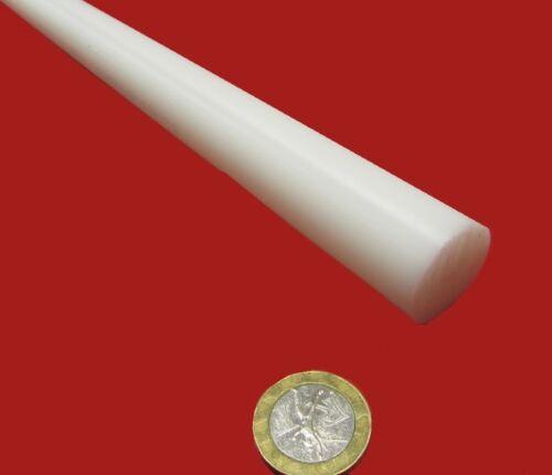 "Acetal Delrin POM Round Rod White 1.0/"" Dia x 60/"" Length 1 Unit 1.00/"""