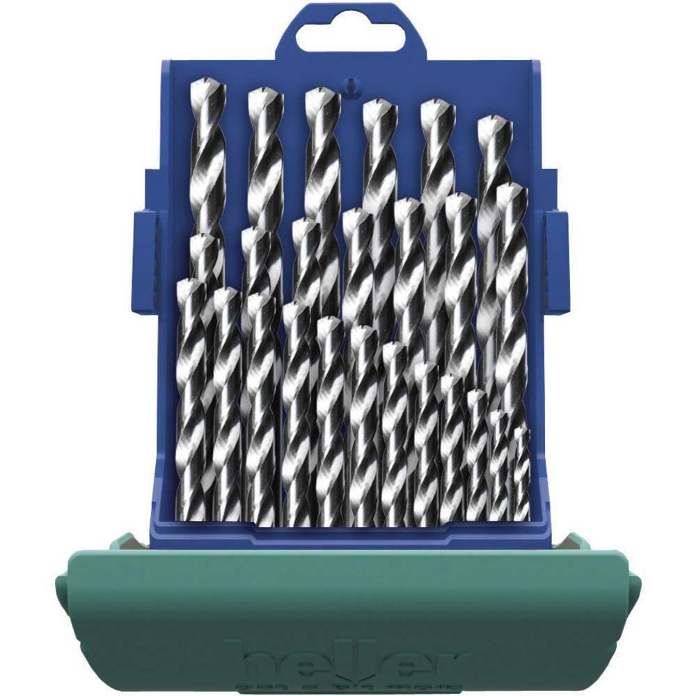 Heller 21965 5 HSS Metall-Spiralbohrer-Set 25teilig Cobalt DIN 338