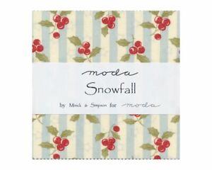 Snowfall-by-Minick-amp-Simpson-Charm-Pack-for-Moda-Fabrics
