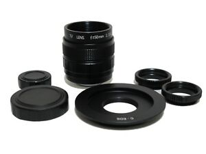 Fujian-50mm-F1-4-CCTV-Movie-Lens-w-C-EOS-Adapter-to-Canon-EOS-EF-6DII-5DIV-7DII