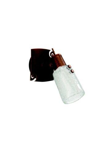 Energiesparspot Deckenlampe Spot Wandleuchte Strahler  Braun Glas