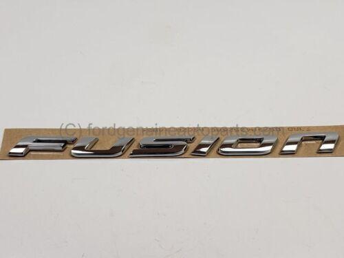 Genuine OEM Ford Fusion Emblem Nameplate DS7Z-5842528-A