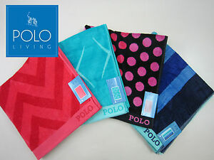 POLO-100-Cotton-Velour-Beach-towel-Extra-Large-size-4-designs-available