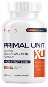 Primal Unit XL - Male enhancement formula - Natural T Boosting Complex - 60 Caps