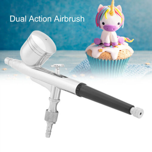 Small Solid Sprayer Nail Tools 0.3mm Dual Action 7CC Airbrush for Toys Nail Care