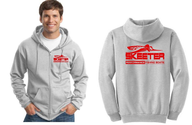 Skeeter Boats Zipper Hoodie Sweatshirt
