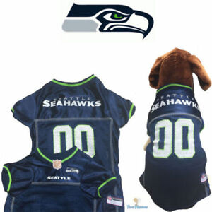 de7bc153cf0 NFL Pet Fan Gear SEATTLE SEAHAWKS Dog Jersey for Dog Dogs XXL BIG ...