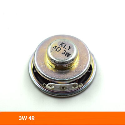 Round Speaker 3W 4R mini Speaker Small Audio Amplifier Speakers 3 watts 4 ohms