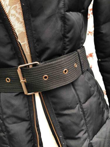 Tagliata Pelliccia m Coat L907 Anorak Cappuccio Style Rifilato Colletto Sintetica Zara In Jacket Puffa qCU8XXF