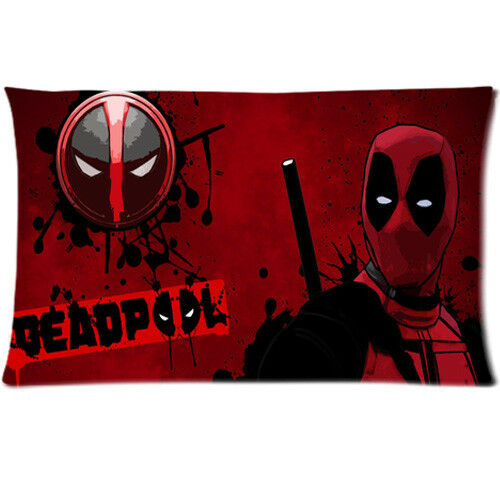 New Deadpool 2 Pillow Cases 36*20 size Two Side Print