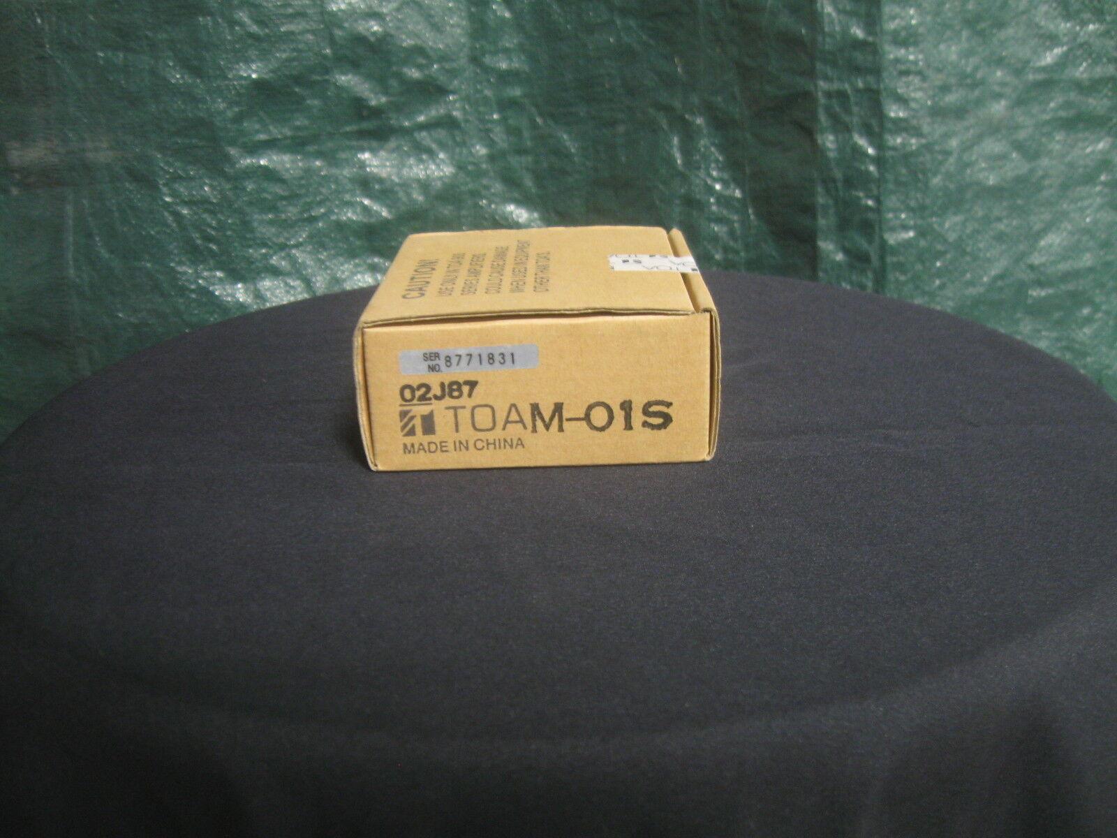TOA M-01S BALANCED MICROPHONE INPUT MODULE. NIB. NOS.