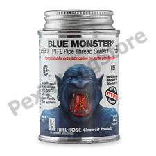 Blue Monster Industrial Grade PTFE Thread Sealant Compound, 4 oz