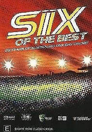 - Six Of The Best - 25 Years Australian One-Day Cricket (DVD) REGION 4 [AS NEW]