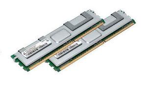 2x 2gb 4gb Ram Mémoire Fujitsu Primergy Rx200 S4 D2671-afficher Le Titre D'origine Excellente Qualité