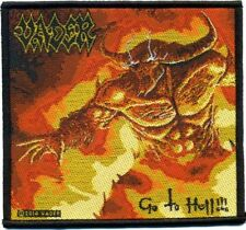 "Vader "" Go to Hell "" Patch/Aufnäher 602454 #"