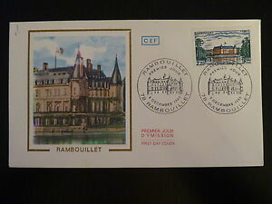 100% De Qualité France Premier Jour Fdc Yvert 2111 Chateau De Rambouillet 2,20f Rambouillet 1980