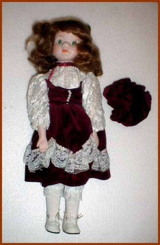 Porzellan Puppe Porzellanpuppe cd16784