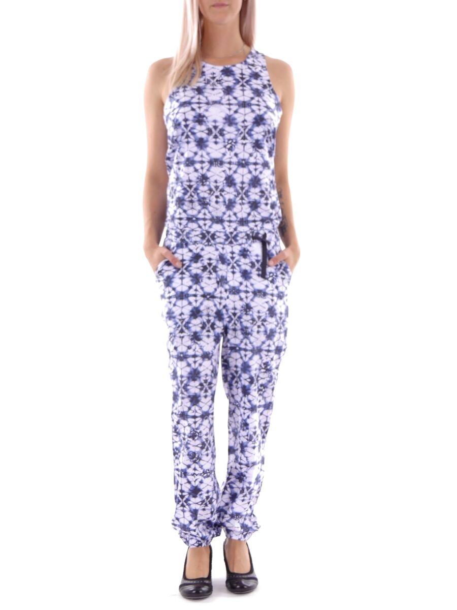 Brunotti Jumpsuit Gillian Long Onesie Suit blue pattern zipper