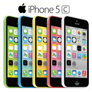 Original Apple Iphone 5C Unlocked New in a box! (5 colors available!).