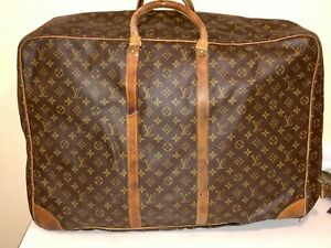 bb6b0346b Image is loading Vintage-Louis-Vuitton-Suitcase-Soft-Sided-Luggage-Travel-