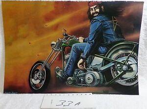 David-Mann-Easyriders-Motorcycle-Biker-Art-Poster-Print-034-Comet-034-1987-16-034-x-10-034