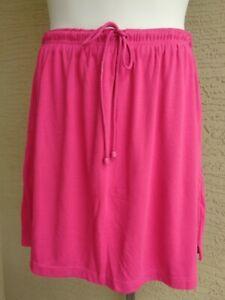 Woman Within Soft Cotton Blend Sport Knit Stretch Waist Skort 1X 22-24W Royal