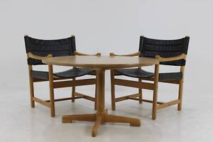 60er Ditte Adrian Heath Danish Leder Sesselcouchtisch 60s Leather