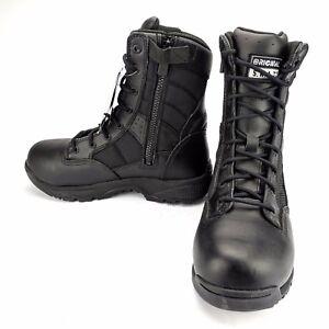 Original-SWAT-Metro-9-034-Waterproof-Side-Zip-Safety-Tactical-Work-Boot-Mens-Sz-6-5