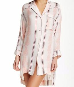 Free People da Sz Intimately a Nwt righe Me M 88 notte Gardenia Close To S Xs Camicia rrdYqF