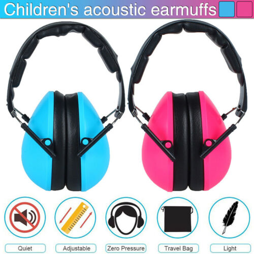 Kids Ear Defenders Toddler Autism Noise Reduction Protectors Muffs Children Gift
