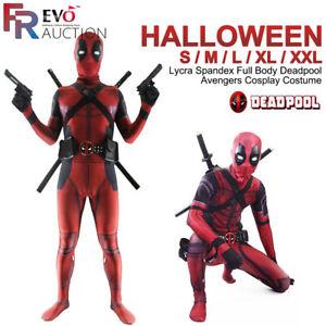 Avengers-complet-Lycra-Spandex-avec-Deadpool-Halloween-Cosplay-Costume