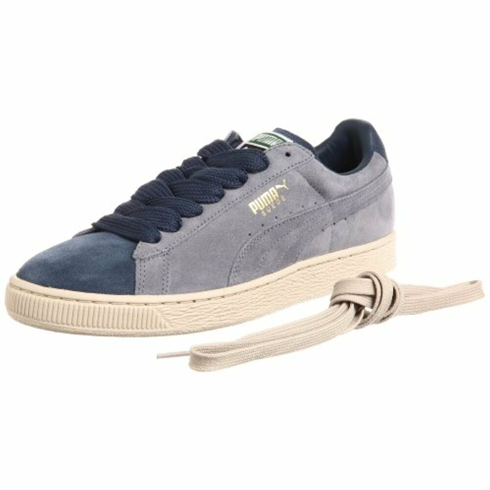 BRAND NEW Puma Suede Classic Eco Leisure Sneaker chaussures (352634-37), Taille 13 US