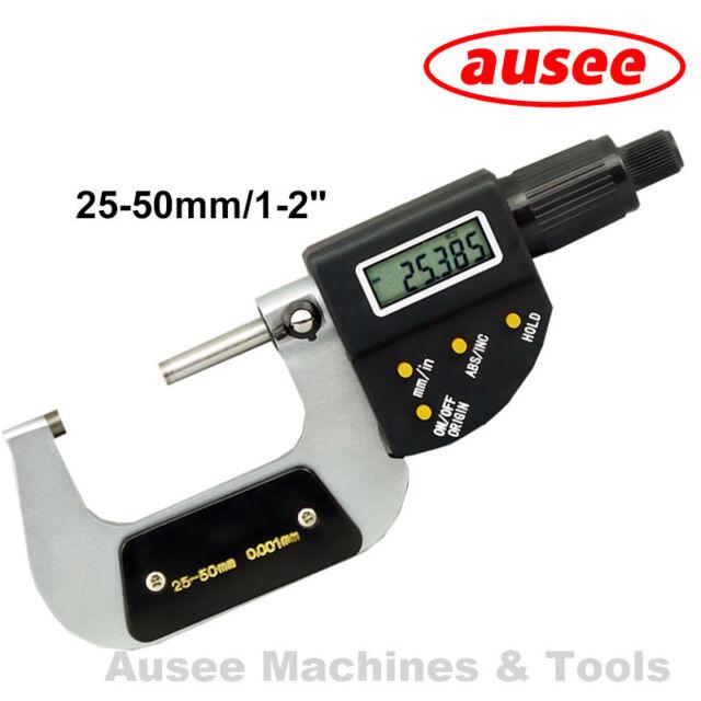 "Digital Outside Micrometer 25 - 50mm / 1-2"""