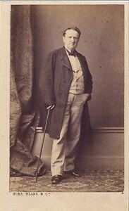 Numa Bianco Parigi Foto CDV Vintage Albumina Ca 1865