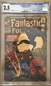 Fantastic-Four-52-Jul-1966-Marvel-1st-App-Black-Panther-CGC-2-5-UNRESTORED