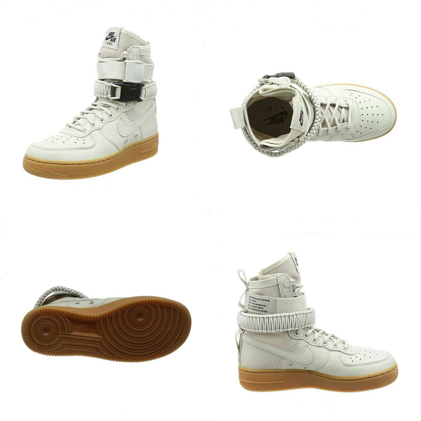 NIKE SF AF1 857872 - 004 ,LIGHT BONE,Women's CASUAl shoes.NEW WITH BOX