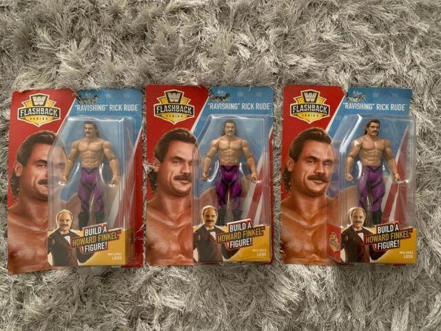 "WWE Collection Flashback Series /""Ravishing/"" Rick Rude Figure NIB Finkel BAF"