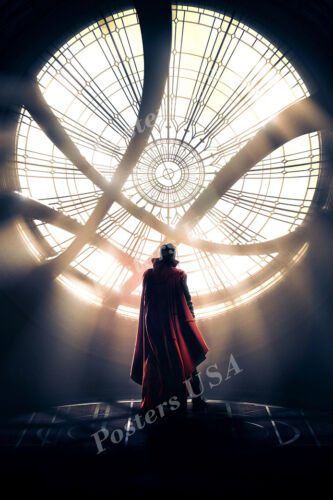 Marvel Doctor Strange Textless Movie Poster Glossy Finish MOV381 Posters USA