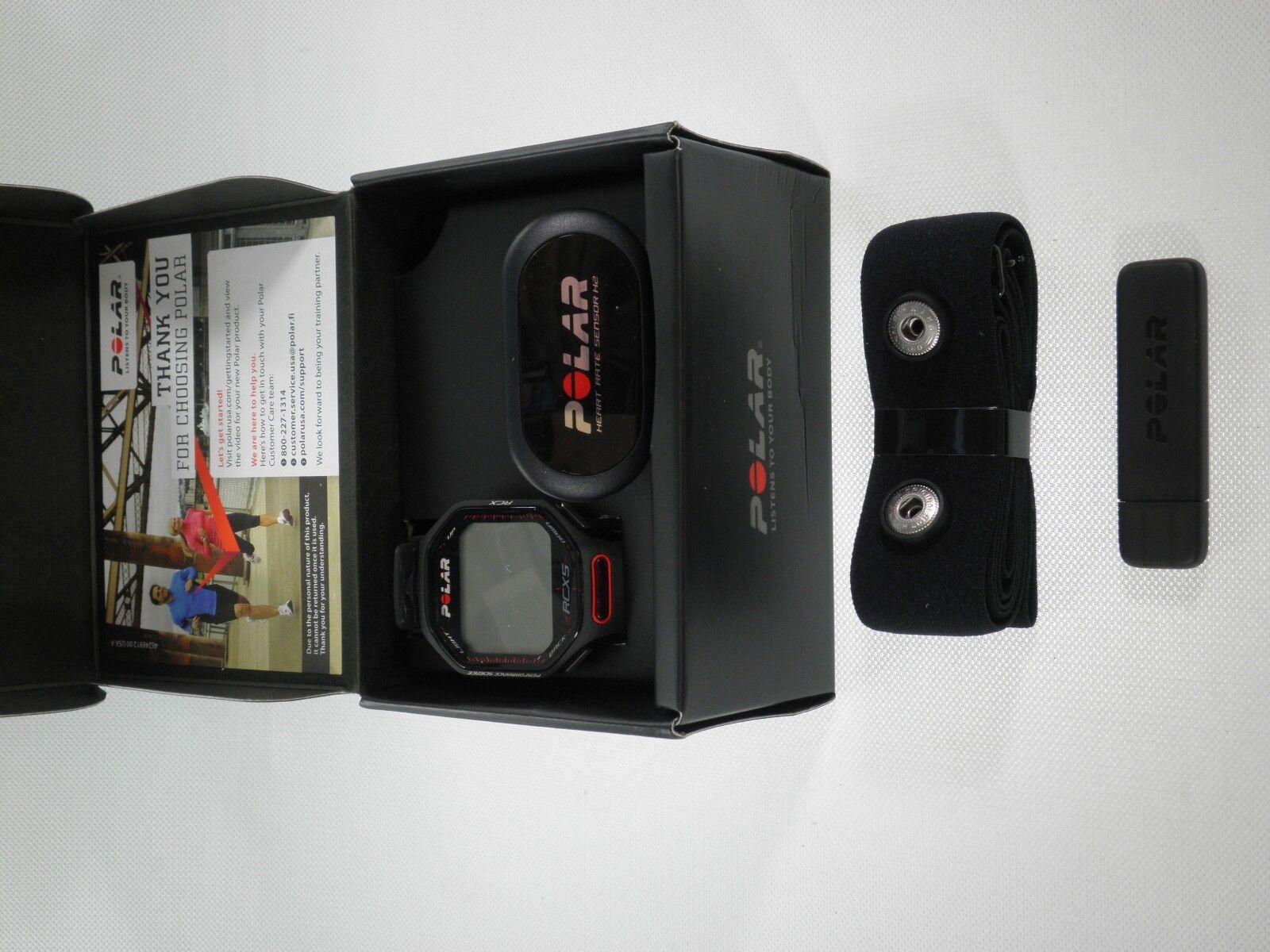 Monitor de ritmo cardíaco Polar RCX5 Negro Deporte Correr Bicicleta Bicicleta Bicicleta De Ejercicio Fitness 90038881 e08651