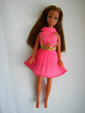 PALITOY PIPPA/DAWN DOLL ORIGINAL MARIE IN MINTY SUPERB CONDITION +PINK DRESS