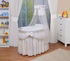 WALDIN Baby Culla per neonato Passeggino,XXL Nuovo bianco