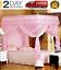bed post canopy for girls bed curtains 4 posts postes de cama para ni�as rosada