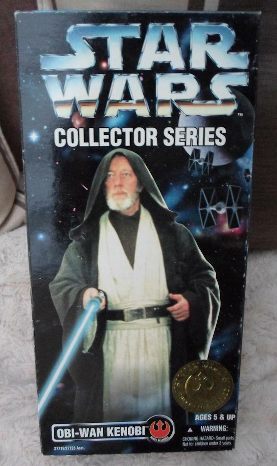 Kenner New New New Hope  Obi wan figure 12  approx fold out box gold label b3319d