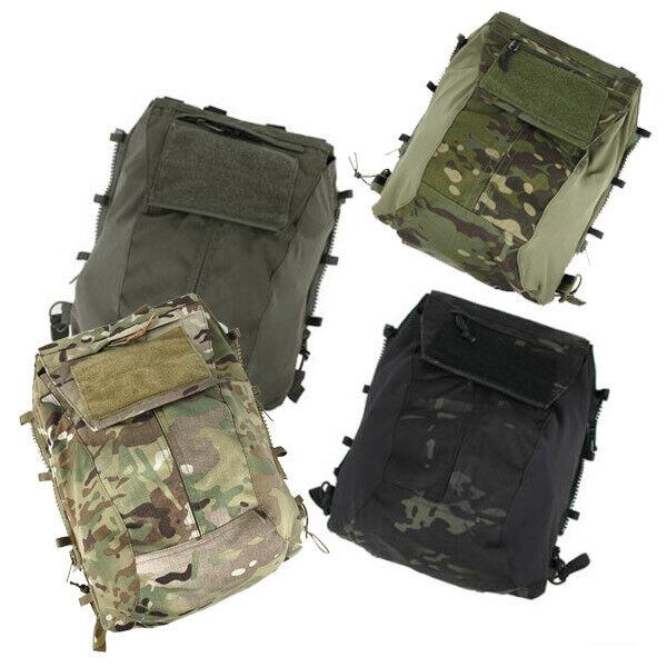 TMC3189 Tactical Vest Pouch Bag Zip Panel for 16-18AVS   JPC2.0 CPC RG MCBK  low prices